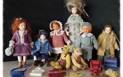 Beautiful dolls with crochet & Miyuki