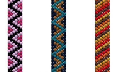 Patterns for tragerperlen necklace